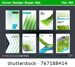 set of design of business... | Shutterstock .eps vector #767188414