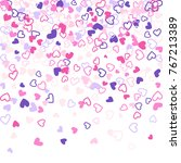 colorful background with heart...   Shutterstock . vector #767213389