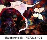 stained glass forever series.... | Shutterstock . vector #767216401