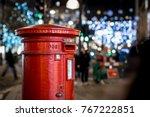 Classic London Post Box  On Th...