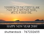motivational quotes  tomorrow... | Shutterstock . vector #767232655