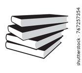 book icon vector | Shutterstock .eps vector #767257354