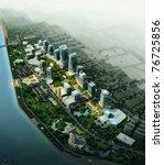 3d city | Shutterstock . vector #76725856