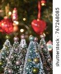 Little Model Christmas Trees...