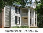Main House On The Sam Davis...