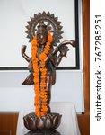 Small photo of Sarswati Maa statue