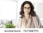 portrait of young adult woman... | Shutterstock . vector #767288791