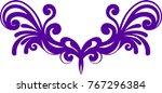 symmetrical pattern for... | Shutterstock .eps vector #767296384