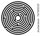 abstract maze labyrinth with...