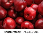 Delicious Red Apples As...