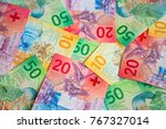 collection of the new swiss... | Shutterstock . vector #767327014