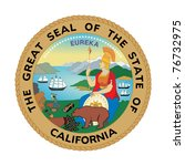 Seal Of American State Of...