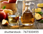 apple cider vinegar | Shutterstock . vector #767333455