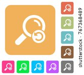 undo search flat icons on... | Shutterstock .eps vector #767368489
