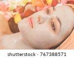 cosmetic procedures for face | Shutterstock . vector #767388571