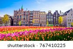 traditional old buildings and... | Shutterstock . vector #767410225