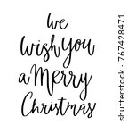 merry christmas happy new year... | Shutterstock .eps vector #767428471