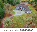 drone aerial view of a...   Shutterstock . vector #767454265