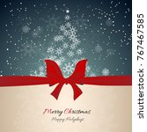 christmas celebration... | Shutterstock .eps vector #767467585