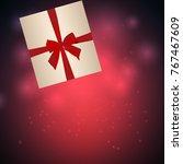 christmas festive background...   Shutterstock .eps vector #767467609