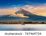 Fuji Mountain And Kawaguchiko...