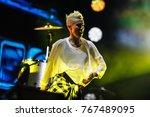 moscow 7 june 2016 concert of... | Shutterstock . vector #767489095