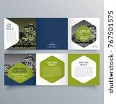 brochure design  brochure... | Shutterstock .eps vector #767501575