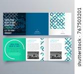 brochure design  brochure... | Shutterstock .eps vector #767503201