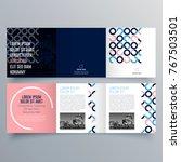 brochure design  brochure... | Shutterstock .eps vector #767503501