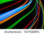 colorful bright red  yellow ... | Shutterstock . vector #767530891