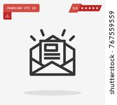 newsletter vector icon
