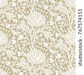 floral seamless pattern. modern ... | Shutterstock .eps vector #767574151