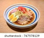 Ramen Cold Noodle With Soup ...