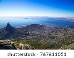 incredible view from the peak... | Shutterstock . vector #767611051