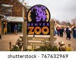 usa. colorado. denver. december ... | Shutterstock . vector #767632969