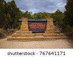 usa. colorado. montezuma... | Shutterstock . vector #767641171