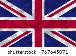 united kingdom flag. abstract...   Shutterstock .eps vector #767645071