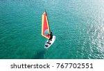aerial drone bird's eye view of ...   Shutterstock . vector #767702551
