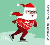 vector cartoon illustration of... | Shutterstock .eps vector #767705191