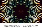 club lights stage background | Shutterstock . vector #767707879