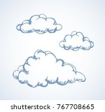 simple cute shape. heaven... | Shutterstock .eps vector #767708665