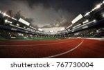 sports background. stadium.... | Shutterstock . vector #767730004