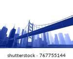 panorama  architecture abstract ...   Shutterstock . vector #767755144