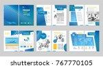 brochure creative design.... | Shutterstock .eps vector #767770105