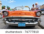 Havana May 3  Front View Of An...