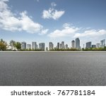 urban traffic road with... | Shutterstock . vector #767781184