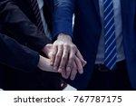 multibusiness shake hands...