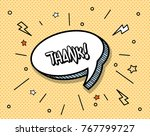 freehand drawn comic book... | Shutterstock .eps vector #767799727