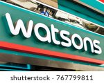 Small photo of HONG KONG-AUGUST 14, 2017: Watsons store; Watsons Personal Care Stores is the largest health care and beauty care chain store in Asia. It operates over 700 stores