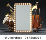 orchestra musical instruments... | Shutterstock . vector #767808019